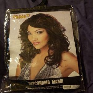 Spirit black diorama mama wig